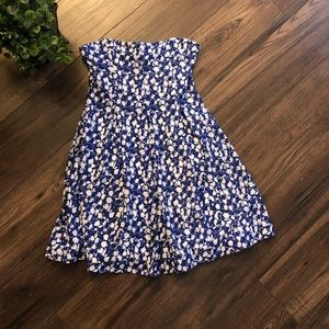 Urban Outfitters Cooperative Strapless SkaterDress